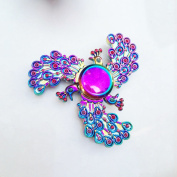 Colorful Peacock Fidget Spinner Metal Finger Toys Anti Stress Phoenix Hand Spinner Fidget Spinners