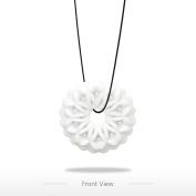Tomfeel Snowflake Pendant 3D Printed Jewellery Original Design Unique Model