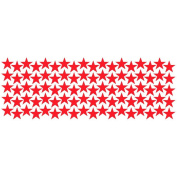 Myhouse Cartoon Decoration Wall Sticker Stars Pattern DIY Wall Decal for Kids Home