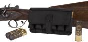 BronzeDog Leather Cartrige Holder, Handmade Leather Shotgun Shell Holder Ammo Pouch, Leather Ammo Bag 12Ga Hunting Cartridge Belt Carrier Case