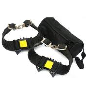 Portable Anti-slip 4 Teeth Snow Climbing Crampons Anti-slip Shoes