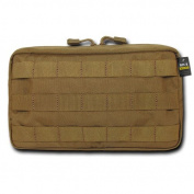 Rapdom Tactical 10.6 Utility Pouch (Horizontal), Coyote