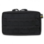 Rapdom Tactical 10.6 Utility Pouch (Horizontal), Black