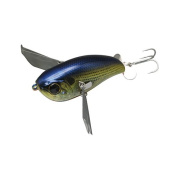JPOMP79-RTSH Jackall Lures, Pompadour 79 Hard Top Water Lure, 7.9cm Body Length, RT Shad, per 1