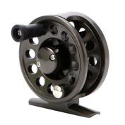 EDTara Ice Sea Fly Fishing Reel Right Hand Plastic Body Super Strong Light Raft Fishing Wheel Reel