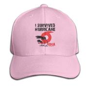 Survived Hurricane Irma Adjustable Baseball Caps Unstructured Dad Hat 100% Cotton Ash