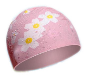 Stylish Waterproof Comfortable Silicone Swim Caps For Long Hair Keep hair dry for Women#2