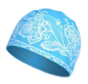 Stylish Waterproof Comfortable Silicone Swim Caps For Long Hair Keep hair dry for Women#13