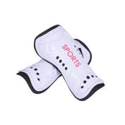 2pcs Soccer Shin Guard Football Cuish Plate with Strap Breathable Shinguard Pads Leg Protector