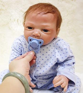 50cm reborn doll reborn baby doll lifelike soft silicone vinyl silicone doll children gifts