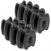 LIVABIT 2x Compound Bow Limb Damper Dampener Stabiliser Silencers for Upper Lower Limbs