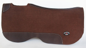 Horse SADDLE PAD Contour 1.9cm Wool Felt Western Butterfly Close Contact 39122BR2