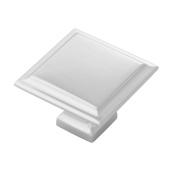 Belwith Products B055577-14 3.8cm . Studio II Square Knob - Polished Nickel