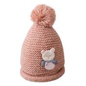 Toddler Winter Warm Hat,Sunbona Childres Baby Girls Cute Winter Warm Knitted Woollen Cap