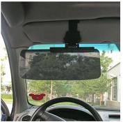 MD Group Car Van Shade Sun Window Sunscreen Visor Extension Glare Mirror