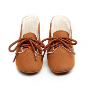 Leedford Newborn Baby Autumn Winter Shoes Infant Prewalker Toddler Soft Sole Sneaker Boots (6-12Months