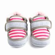 Leedford Infant Baby Non-slip First Walking Shoes Walker Newborn Baby Boy Girl Outdoor Stripe Boots
