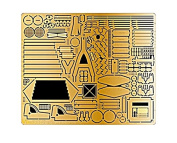 Passion models 1/35 Sd.kfz.231/232 Germany army six-wheeled armoured car etching parts set for plastic parts P35-129