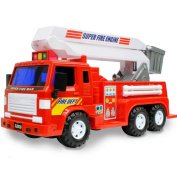 Environmental Protection Plastic Model Toy Car Fire Truck