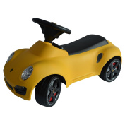 New MTN-G Licenced Porsche 911 Kids Ride On Push Car Toddler Baby Walker Toy Yellow