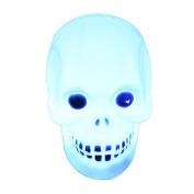 HaiHui Glowing Skulls Halloween Crossbones Lantern Decoration Props LED Light