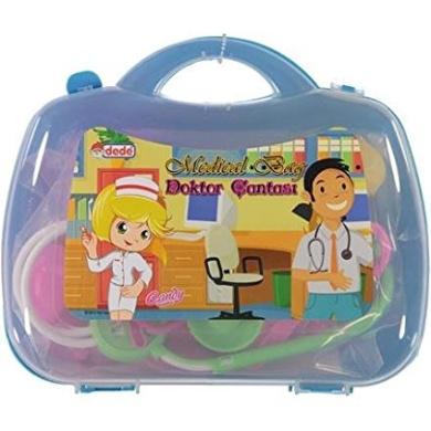 KIDZSTORES Medical Bag, Doctor Set (Blue)