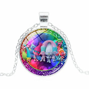 TROLLS PRINCESS POPPY & FRIENDS NECKLACE