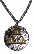 The Legend Of Zelda Tri Force Natural Forces Pendant Necklace