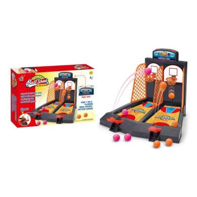 Basketball Game Toy 2-Player Table Top Basketball Shooting Games for Kids Family