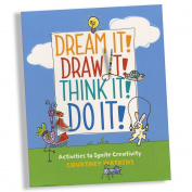 Dream It! Draw It! Think It! Do It! , Educational Books Toys, 2017 Christmas Toys