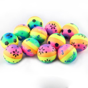 Franterd, Stress Reliever Ball - Solid Pressure Fast Rebound Ball - Decompress toys for Kids Adult - Relieve Stress Cure Toy