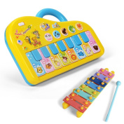 NextX Baby Music Toy Sound Piano Keyboard Toddler Toy for Kids