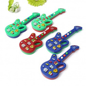 Baby Toy - Guitar - Musical Educational Game Gift Charming Portable Electric Guitar Toy for Beginners Kids Child Baby With Keyboard Developmental Good Sound