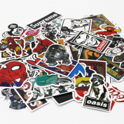 UTSAUTO Graffiti Stickers Decals Pack of 100 pcs Car Stickers Motorcycle Bicycle Skateboard Luggage Phone Pad Laptop Stickers And Bumper Patches Decals Waterproof