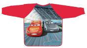 Disney Pixar Cars 3 Movie Children Art Smock Kids Art Apron with Waterproof Long Sleeves - . -6 - Lightweight and Comfortable