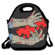 Zombie Arms Lunch Tote Insulated Reusable Picnic Lunch Bags Boxes For Men Women Adults Kids Toddler Nurses