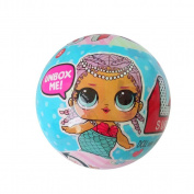 Leegor 1PC 1th Generation LOL Surprise Ball Spouting Water Dolls Discolour Dolls Surprise Egg Novel Xmas Toys Birthday Present