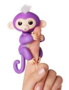 Fingerlings Monkey Toys, Lary intel Finger Pet Monkeys Interactive Baby Monkey Children Kids Toy - Purple