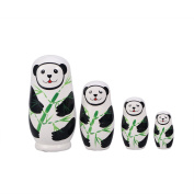 TOYMYTOY 5Pcs Nesting Dolls Russian Stacking Dolls Collection Toy
