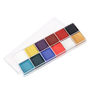 NUOLUX 12in1 Flash Colours Face Body Oil Painting Art Make Up Halloween Party Fancy Dress Artist Palette
