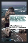 Studies in Musical Education History and Aesthetics, Seventh Series