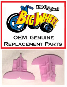 2 Pink Wheel Inserts for 41cm MINNIE MOUSE The Original Big Wheel, Original Replacement Parts