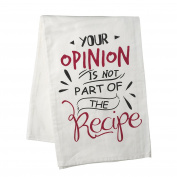 Heaven Sends Your Opinion… Cotton Tea Towel (26.37 x 27.55ins)