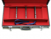 Western Kitchen Knife Storage Attache Case Capable of Holding 12 Western Kitchen Knives Made in Japan