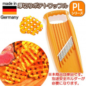One piece of article PL thick slice potato waffle slicer XXL (Double X L) orange made in Germany