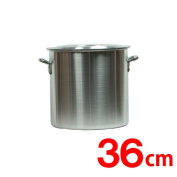 TB aluminium cutting in round slices pot lid 36cm tempos original belonging to