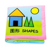 Shapes Series Baby Learning Toys Cloth Books Handmade Educational Toys for Baby