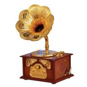 Old Fashioned Gramophone Music Box Keepsake