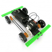 Lookatool 1 Set Mini Powered Toy DIY Car Kit Children Educational Gadget Hobby Funny