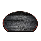 Luncheon mat low dining table tray sum Japanese food Japanese style Japanese modern carpet reversible 12.0 half moon both sides low dining table S33-01 gift present